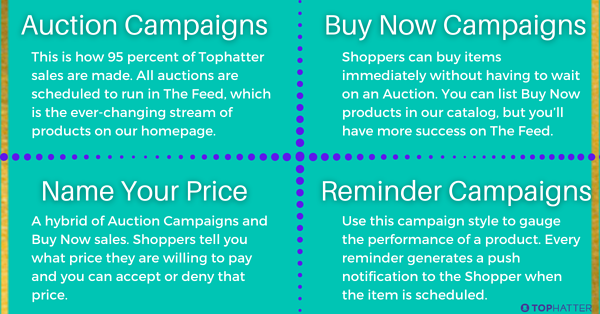 tophatter eCommerce campaigns