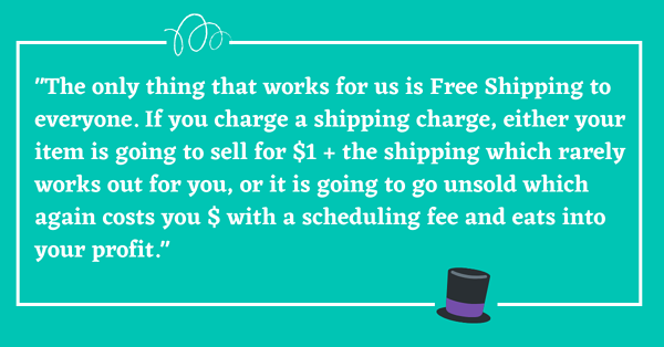 why offer free shipping online
